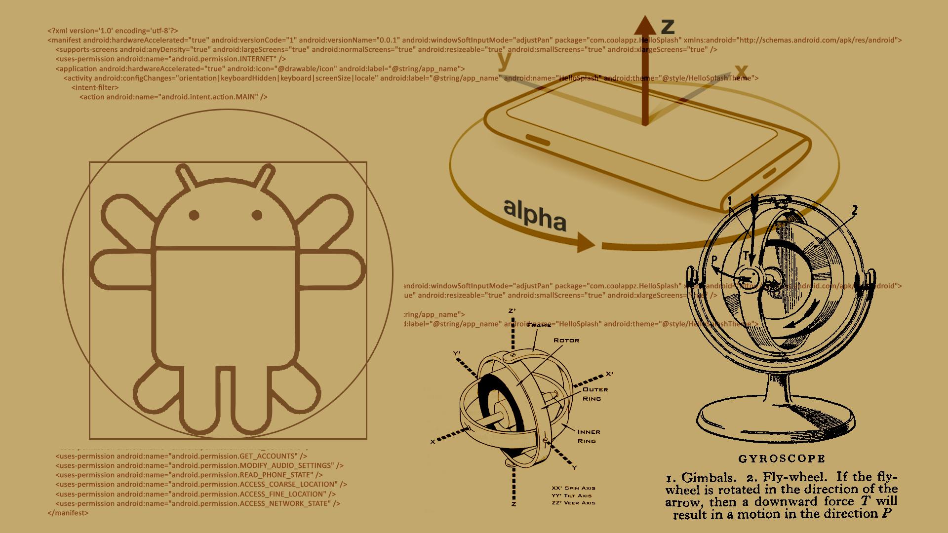 Android Vitruviano