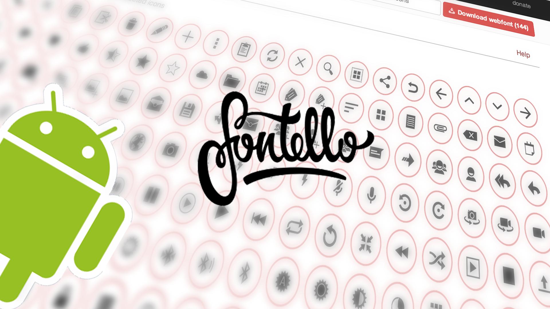 android-holo-icons-font-fontello