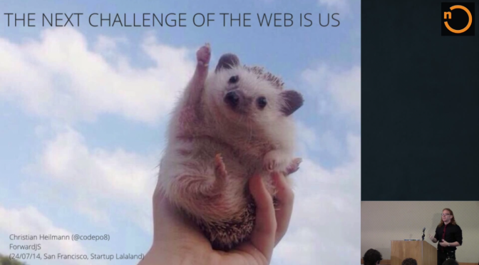 The Next Challenge of the Web is Us